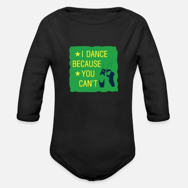 Italian Ballet Dancer Gift - Organic Long-Sleeved Baby Bodysuit