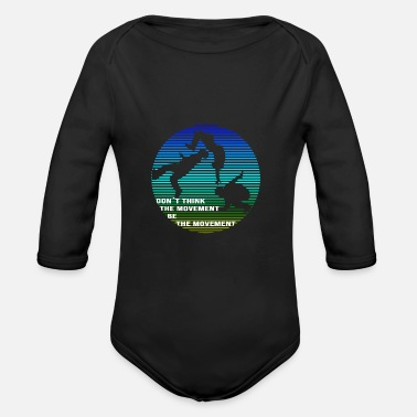 Movement Parkour Be the Movement - Organic Long-Sleeved Baby Bodysuit