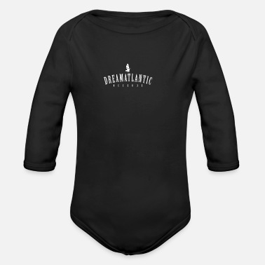 Atlantic Atlantic - Organic Long-Sleeved Baby Bodysuit