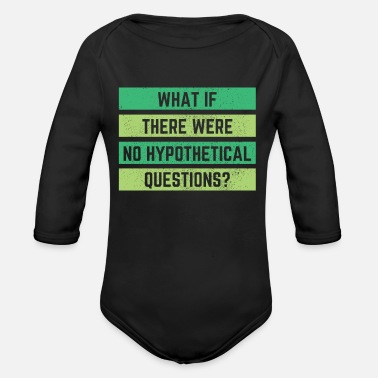 Philosophy Philosophy Gift - Organic Long-Sleeved Baby Bodysuit
