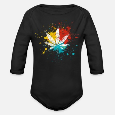 Cannabis Cannabis - Organic Long-Sleeved Baby Bodysuit