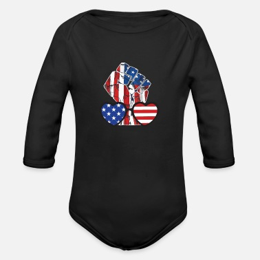 Punch Punch - Organic Long-Sleeved Baby Bodysuit