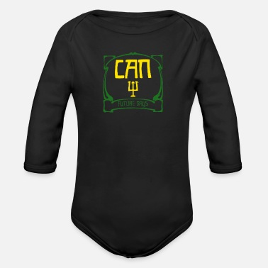 Can Band Logo - Organic Long-Sleeved Baby Bodysuit