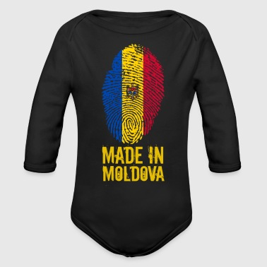 Made in Moldova - Organic Long Sleeve Baby Bodysuit