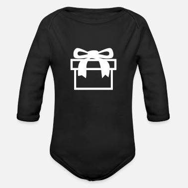 Birthday Present Birthday Present - Organic Long-Sleeved Baby Bodysuit