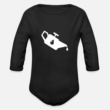 Gasoline Gasoline - Organic Long-Sleeved Baby Bodysuit