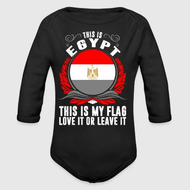 This Is Egypt - Organic Long Sleeve Baby Bodysuit