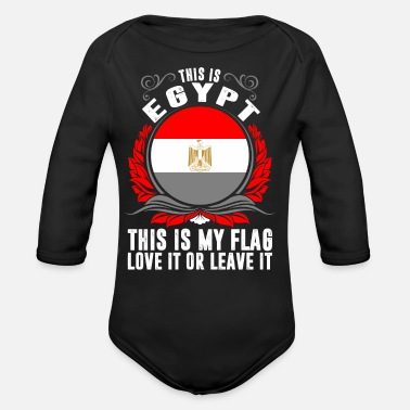 Egypt This Is Egypt - Organic Long-Sleeved Baby Bodysuit