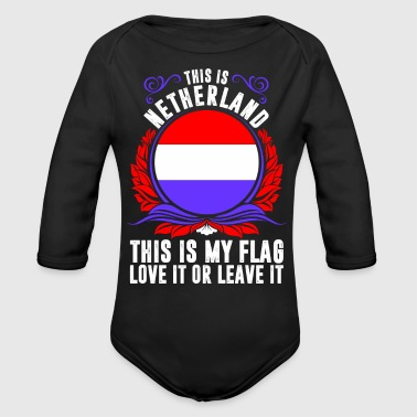 This Is Netherland - Organic Long Sleeve Baby Bodysuit
