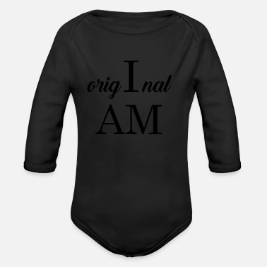 Original Original - Organic Long Sleeve Baby Bodysuit