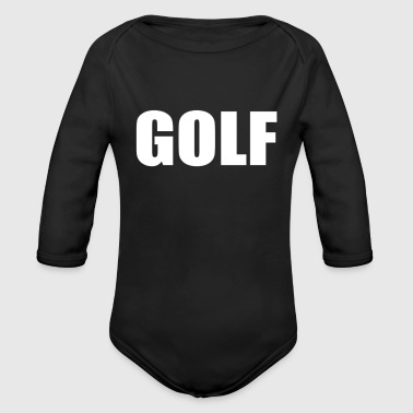 GOLF - Organic Long Sleeve Baby Bodysuit