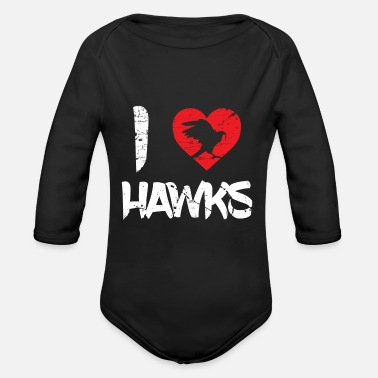 Rodent Hawk Beak Rodent Feather - Organic Long Sleeve Baby Bodysuit