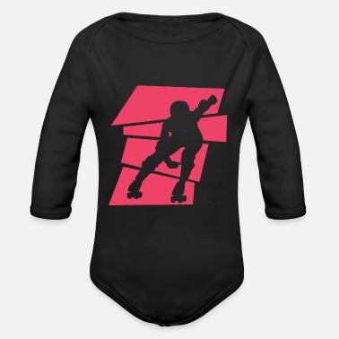 Derby Roller Derby - Organic Long-Sleeved Baby Bodysuit
