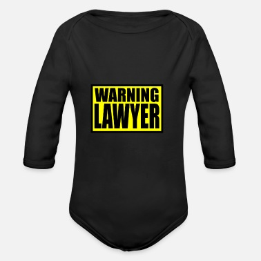 Lawyer Lawyer - Organic Long Sleeve Baby Bodysuit
