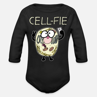 Biology Cell biology - Organic Long-Sleeved Baby Bodysuit