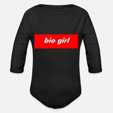 Bio Hazard BIO GIRL bio Tshirt - Organic Long-Sleeved Baby Bodysuit