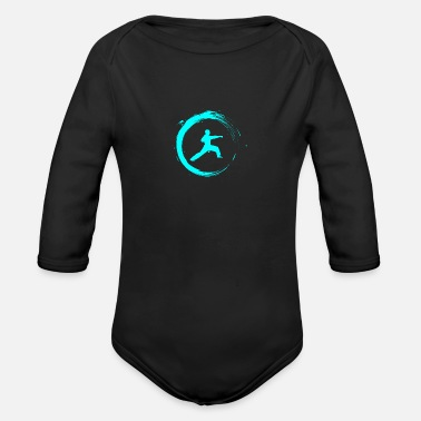 Fighter Fighter - Organic Long Sleeve Baby Bodysuit