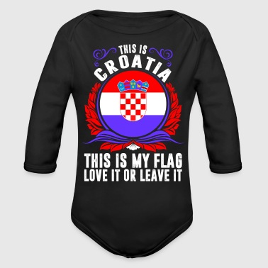 This Is Croatia - Organic Long Sleeve Baby Bodysuit