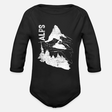 Alps Alps - Organic Long-Sleeved Baby Bodysuit