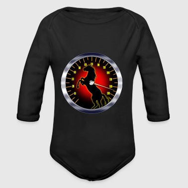 Pure Horse Power - Long Sleeve Baby Bodysuit