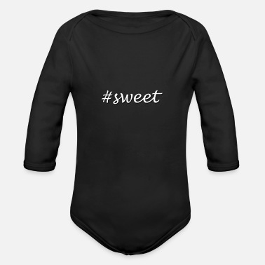 Sweets Sweet - Organic Long-Sleeved Baby Bodysuit