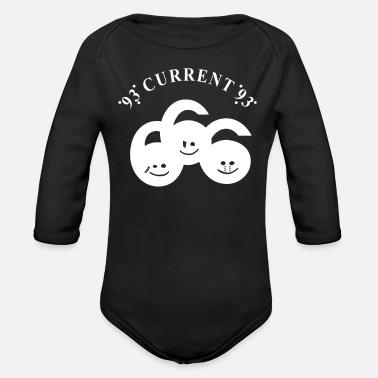 Current Events current 93 - Organic Long-Sleeved Baby Bodysuit