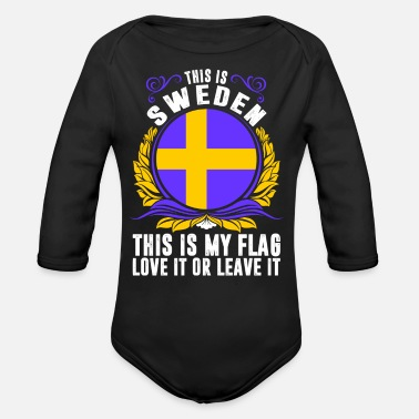 Sweden This Is Sweden - Organic Long-Sleeved Baby Bodysuit
