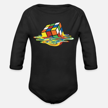 Cube meltingcube - Organic Long-Sleeved Baby Bodysuit