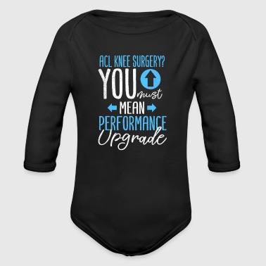 Get Well Performance Upgrade - Organic Long Sleeve Baby Bodysuit