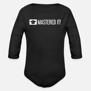 Best In Class MASTERED IT! - Organic Long-Sleeved Baby Bodysuit