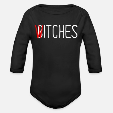 Witches It sarcasm - Organic Long-Sleeved Baby Bodysuit