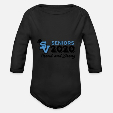 Senior seniors - Organic Long-Sleeved Baby Bodysuit