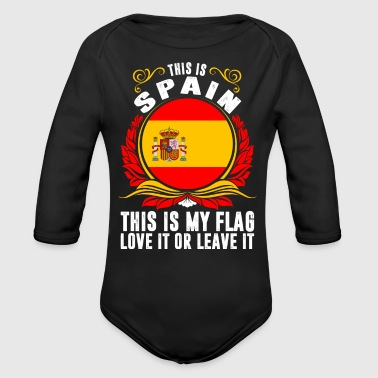 This Is Spain - Organic Long Sleeve Baby Bodysuit