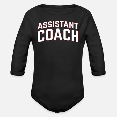 Coach Assistant Coach - Organic Long-Sleeved Baby Bodysuit
