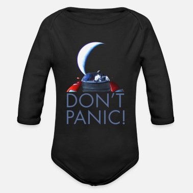 Occupy occupy mars - Organic Long-Sleeved Baby Bodysuit
