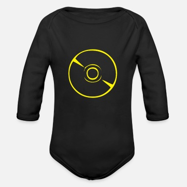 Record Vinyl Record - Organic Long-Sleeved Baby Bodysuit