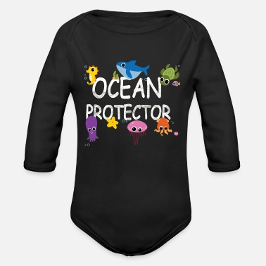 Nature Environmental protection, nature conservation, Oce - Organic Long-Sleeved Baby Bodysuit