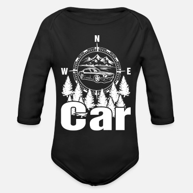 Drive Go By Car I Just Need To Go Car Driving - Organic Long Sleeve Baby Bodysuit