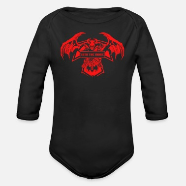Noise Into the noise - Organic Long-Sleeved Baby Bodysuit