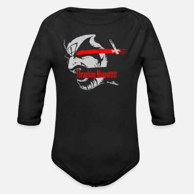 Thrash Thrashing Matt - Organic Long Sleeve Baby Bodysuit