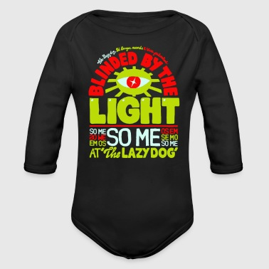 Blinded by the light - Organic Long Sleeve Baby Bodysuit