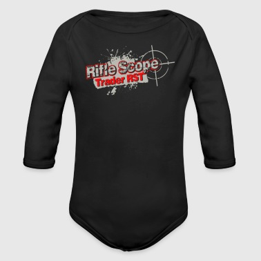 Rifle scope - Organic Long Sleeve Baby Bodysuit