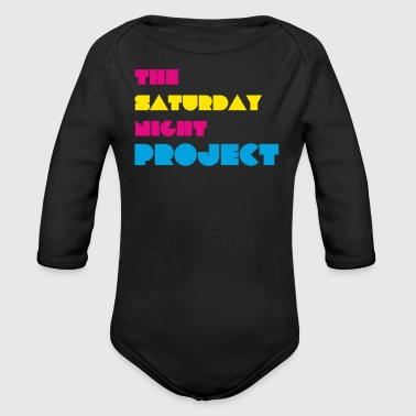 The Saturday Night Project - Organic Long Sleeve Baby Bodysuit