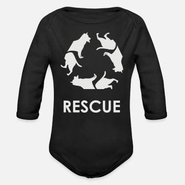 Rescue Rescue - Organic Long Sleeve Baby Bodysuit