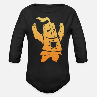 Sword sword - Organic Long-Sleeved Baby Bodysuit