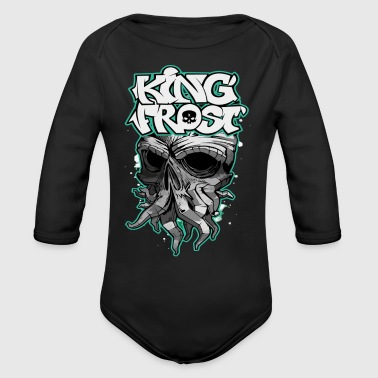 Frost King Frost - Organic Long Sleeve Baby Bodysuit