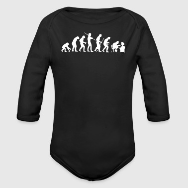 Modern Evolution - Organic Long Sleeve Baby Bodysuit