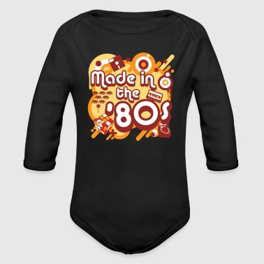 Made In The 80s - Organic Long Sleeve Baby Bodysuit