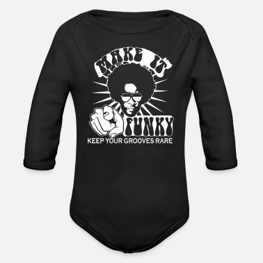 Funk Funk - Organic Long-Sleeved Baby Bodysuit