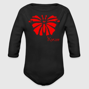 Kyuss Retro Stoner Desert Rock - Organic Long Sleeve Baby Bodysuit